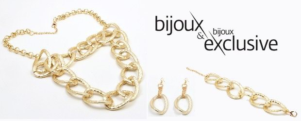 BIJOUX&BIJOUX EXCLUSIVE VE ZLATÉ